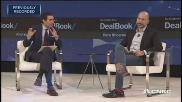 Uber CEO Dara Khosrowshahi: I told Travis Kalanick that a new CEO needed space