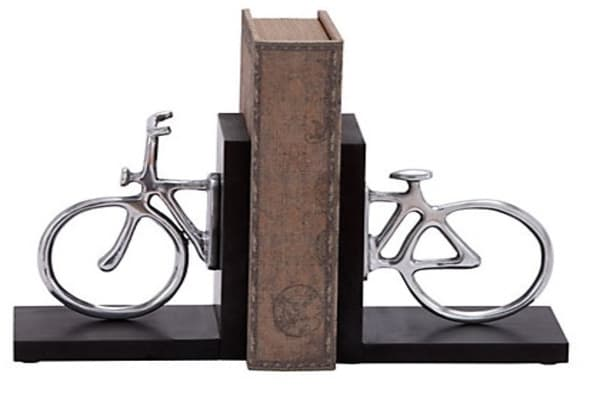Set of 2 Cycle Bookends.