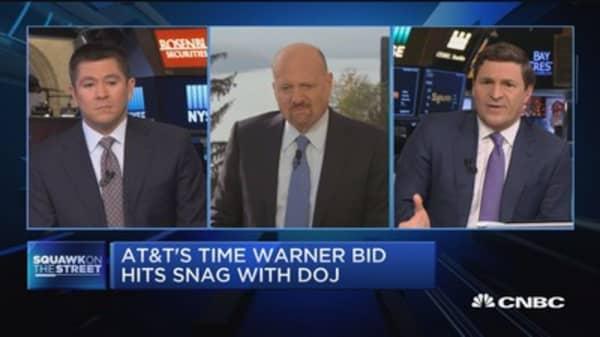 AT&T's Time Warner bid hits snag