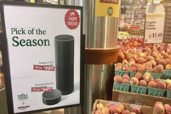 Amazon to bring pop-up shops to Whole Foods stores for the holidays