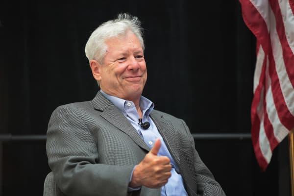 U.S. economist Richard Thaler won the 2017 Nobel Economics Prize
