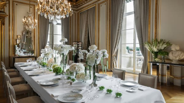 Inside an elite Paris hotel
