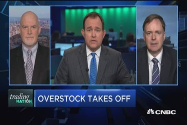 Trading Nation: Overstock takes off
