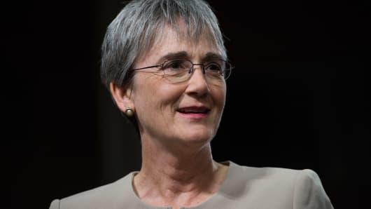 Secretary of the Air Force Heather Wilson.