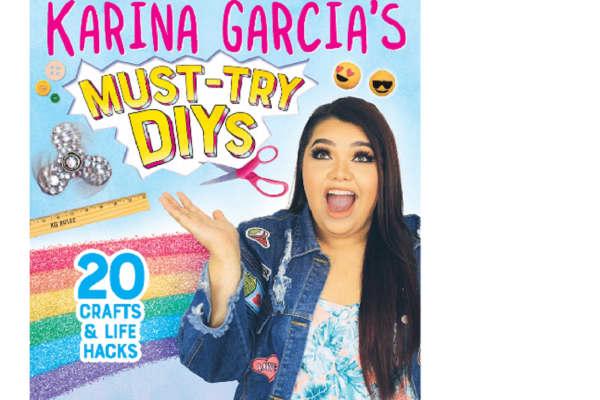 Karina Garcia's DIY book