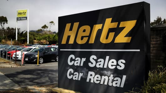 Hertz Global third-quarter profit beats estimates
