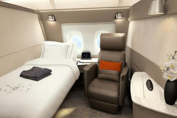 Singapore Airlines' new hotel suites in the sky