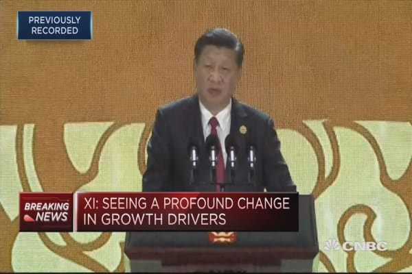 Seeing profound change in economic globalization, Chinese president says