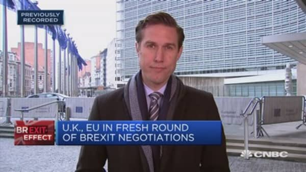Teneo: Barnier understands the pressure on May