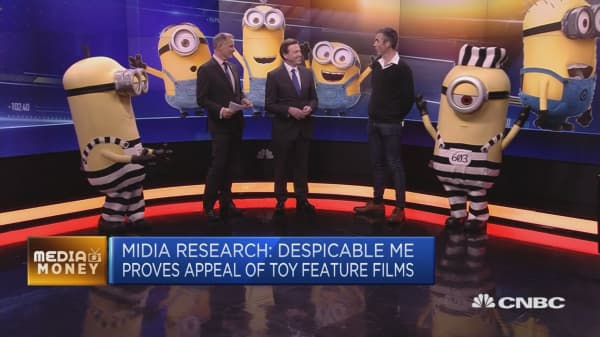 Despicable Me proves appeal of toy features films, analyst says