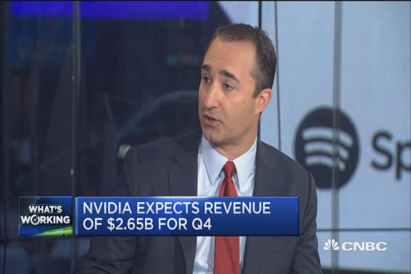 Nvidia in the early days of artificial intelligence ramp up: Raymond James analyst