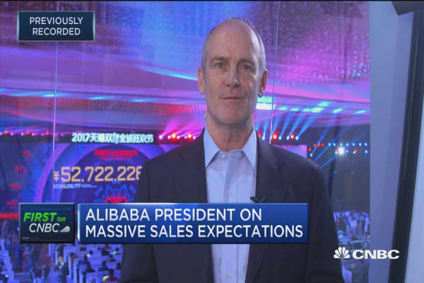 We're gaining momentum with Singles Day: Alibaba president