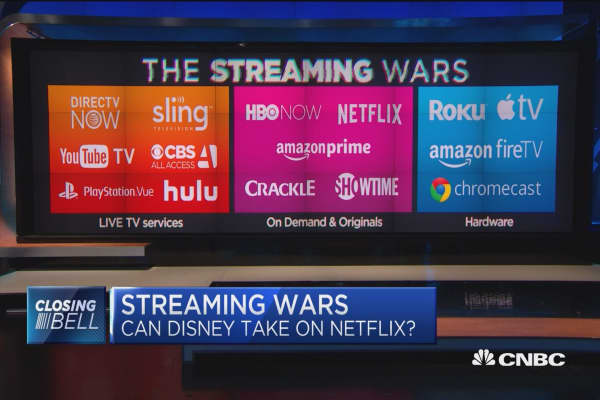 Will Disney's streaming service be able to compete with Netflix?