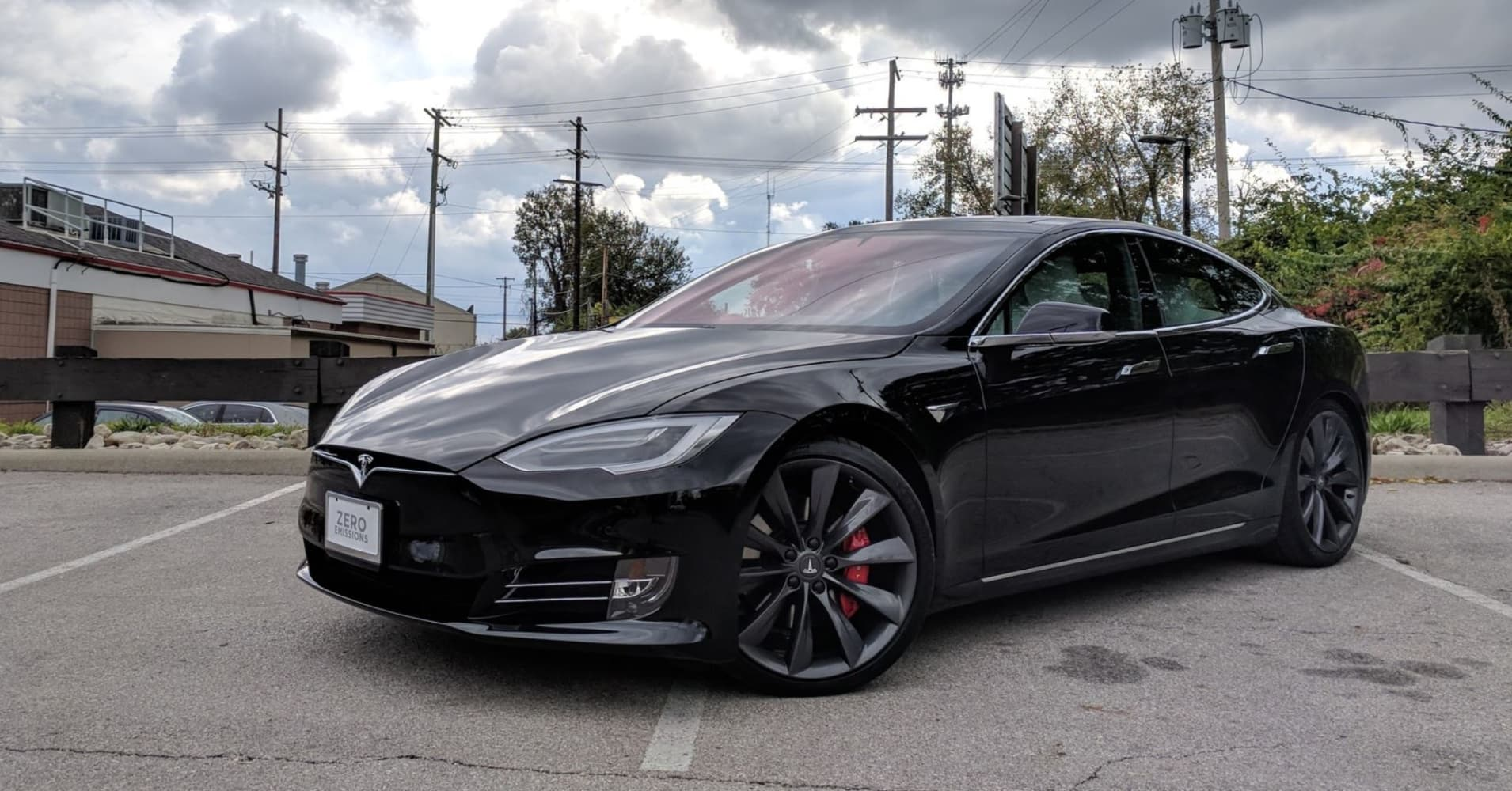 tesla model s p100d review. Black Bedroom Furniture Sets. Home Design Ideas