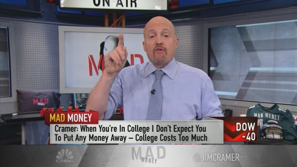 Cramer's advice for investing in your 20s, 30s, 40s and beyond
