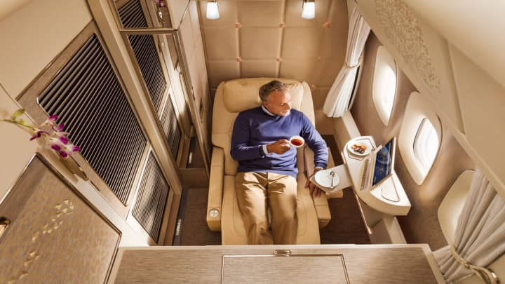 Emirates' new first class, the latest in airborne luxury battle 2