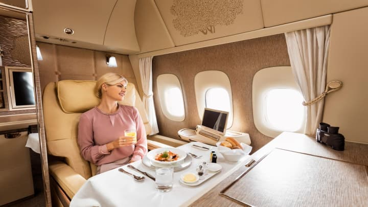 Emirates' new first class, the latest in airborne luxury battle 3