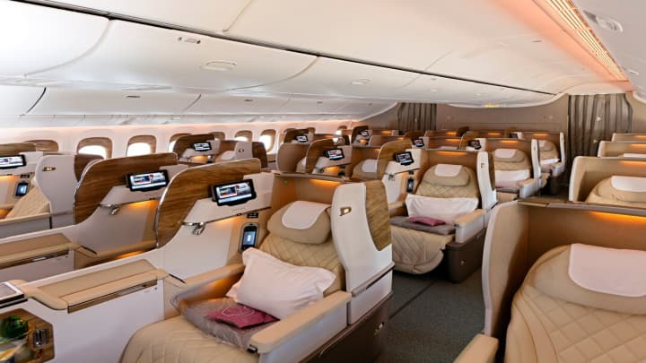 Emirates' new first class, the latest in airborne luxury battle 4