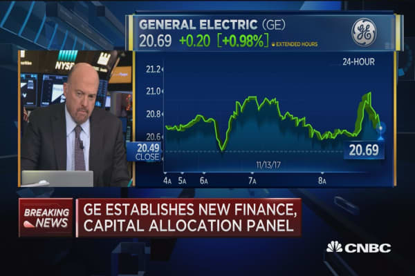 Cramer says John Flannery is going to make General Electric look like a regular company