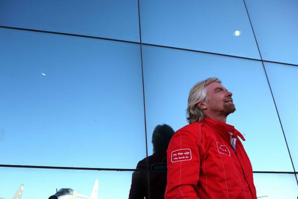British billionaire adventurer Sir Richard Branson