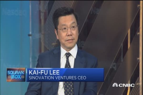 A.I. will obliterate half of all jobs, starting with white collar workforce, says ex-Google China president