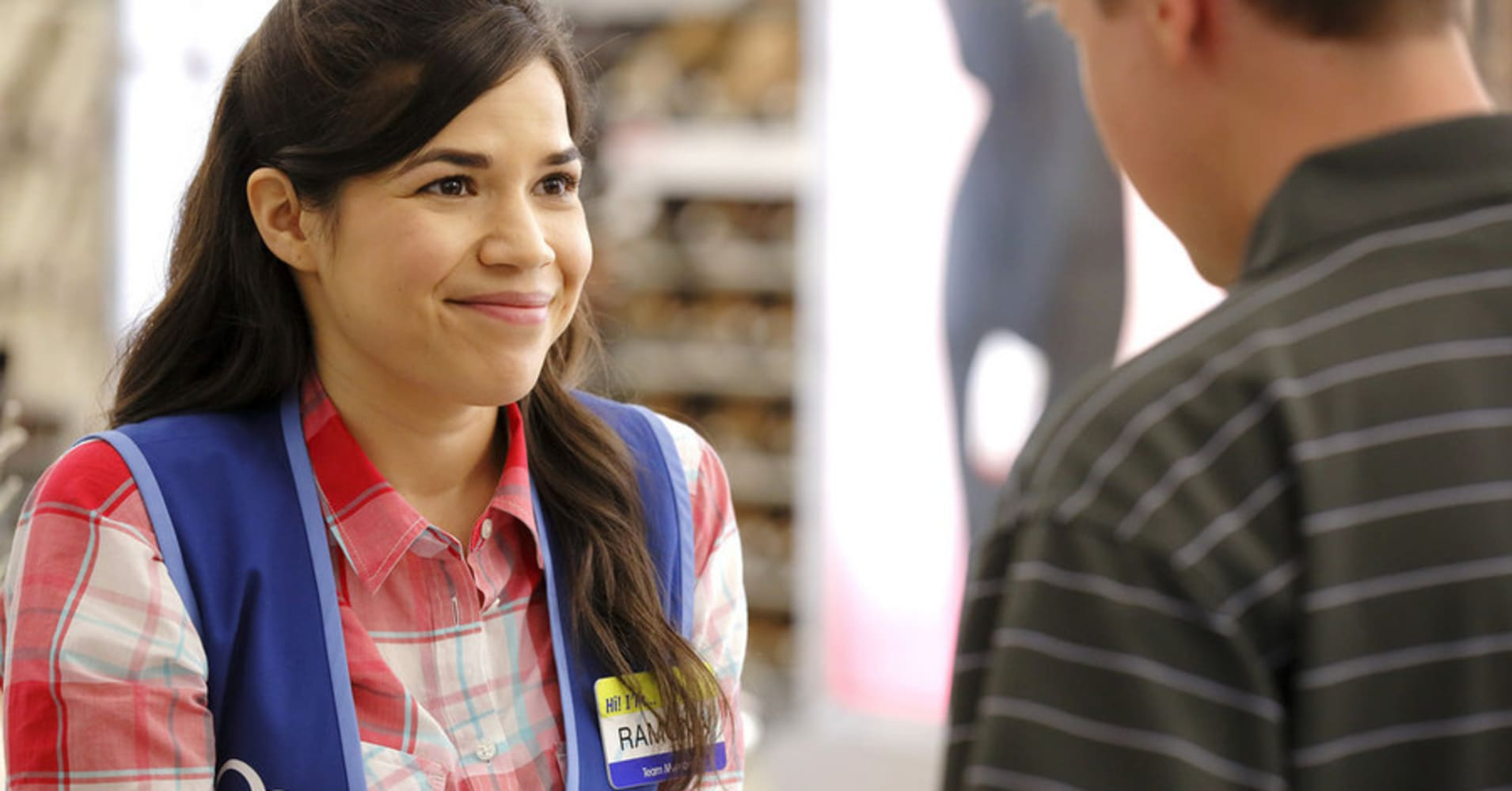 "SUPERSTORE -- ""Pilot"" -- Pictured: America Ferrera as Amy"