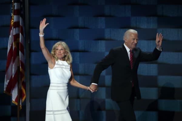 Dr. Jill Biden and Joe Biden
