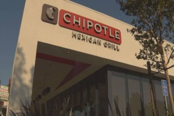 Chipotle shares tank after actor Jeremy Jordan said he 'almost died' after eating at the chain