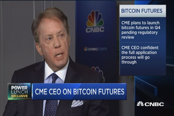 CME CEO on shorting bitcoin: A 'two-sided market' is always more efficient