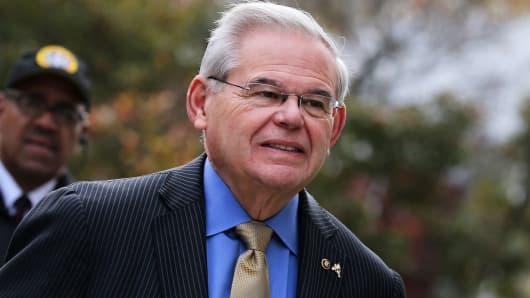 Sen. Robert Menendez, (D-NJ)