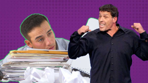 Here's how to motivate lazy people the Tony Robbins way