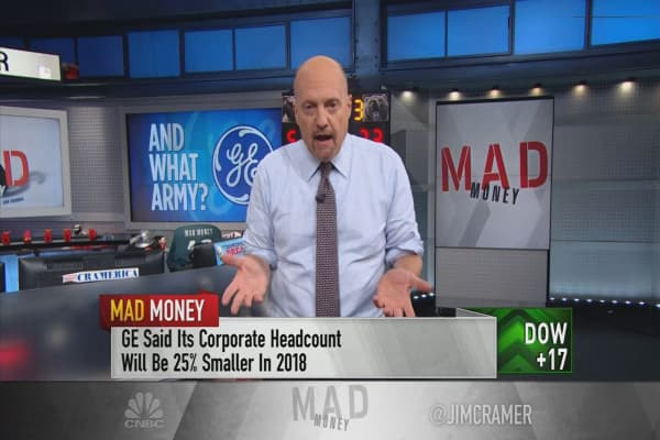 Cramer: 'You could not have a worse track record' than GE when it comes to takeovers