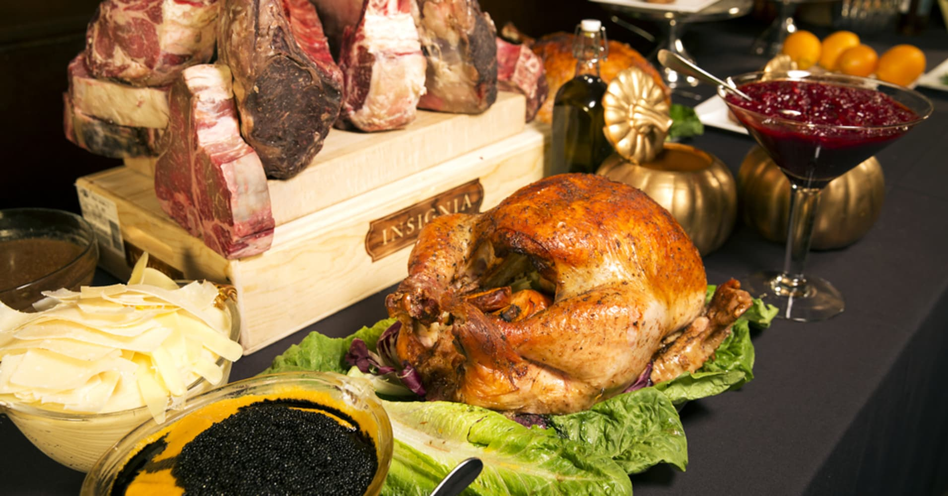 I ate a $76,000 Thanksgiving dinner—but there was one thing missing