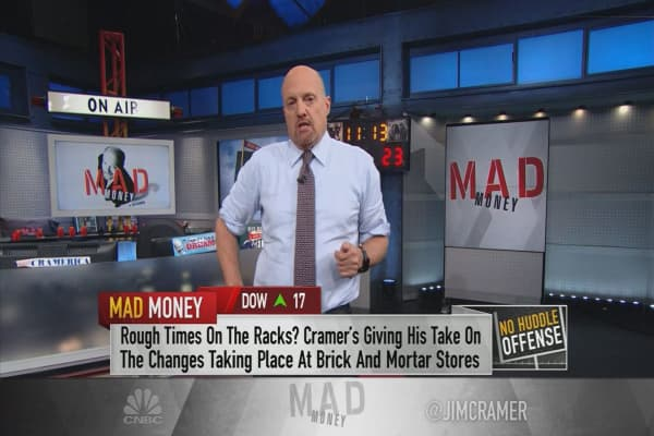 Cramer says Macy's and JC Penney are becoming 'relics' of retail past