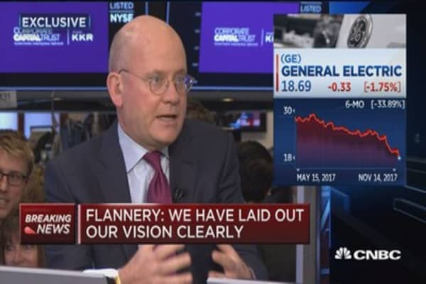 General Electric CEO John Flannery: Power business is a challenging macro environment