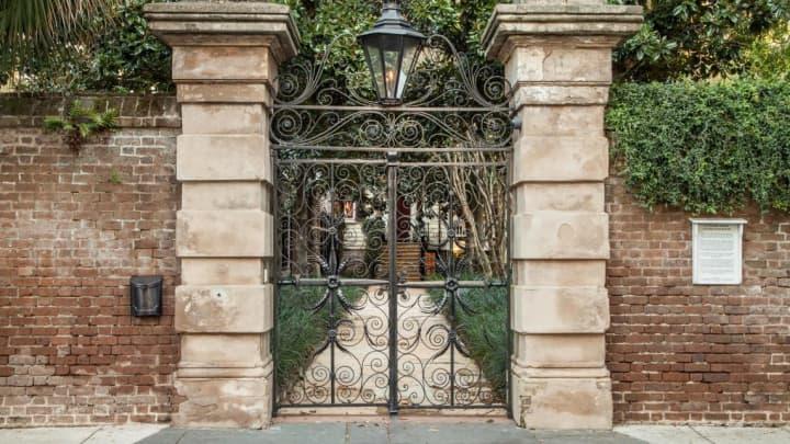 Sword Gate's famous front gates.