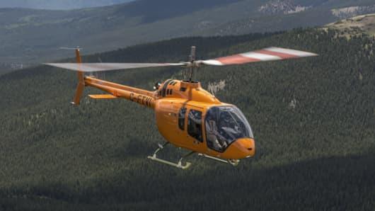 The Bell 505 Jet Ranger X