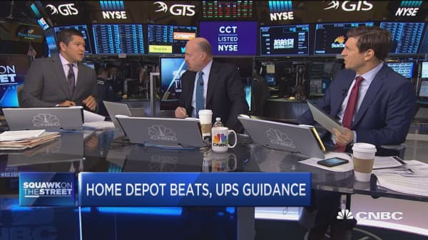 Cramer on Home Depot: Amazon will not take them out