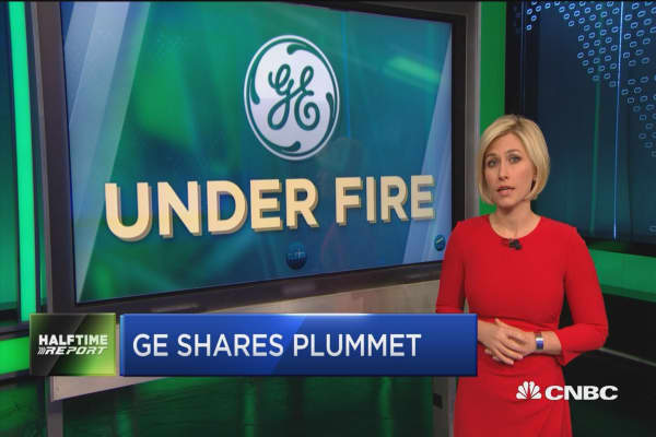 GE CEO John Flannery not surprised by double digit plunge in stock