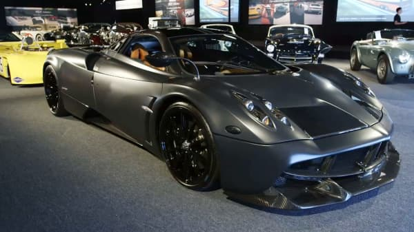 The Pagani Huayra Tempesta.
