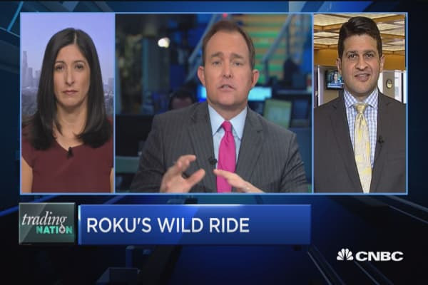 Trading Nation: Roku's wild ride