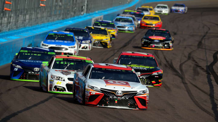 Monster Energy NASCAR Cup Series Can-Am 500 at Phoenix International Raceway on November 12, 2017 in Avondale, Arizona.