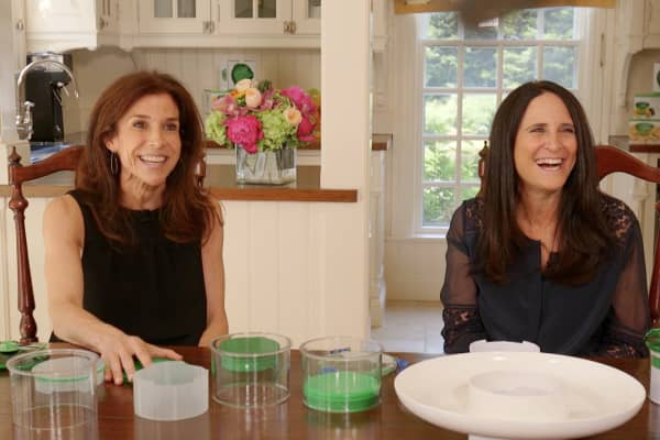 Guac-Lock founders Jane Och (left) and Sharon Prince invented their guac-saving container after growing tired of seeing guacamole brown.
