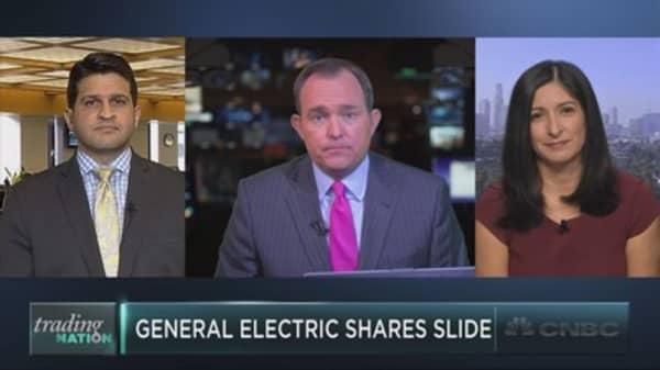 Should General Electric stay in the Dow?