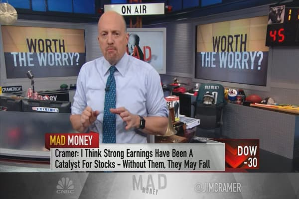 Cramer gives 5 reasons for buying the market's dip