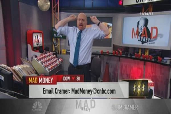Cramer's lightning round: This is your chance to get into 'up stock' Idexx Labs