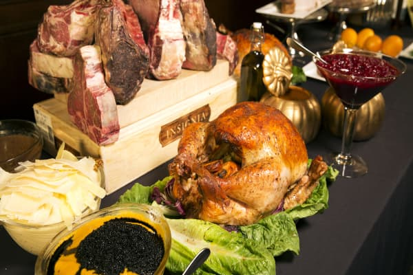 At $76,000, this is the world's most expensive Thanksgiving experience