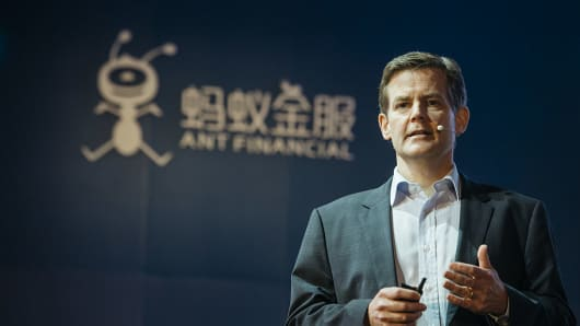 Douglas Feagin, senior vice president and head of global business at Ant Financial