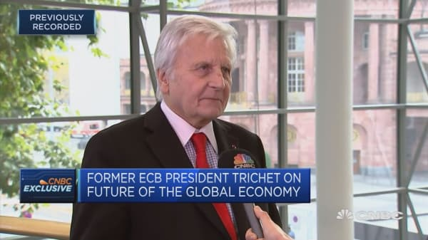 Former ECB chief: Asset price levels call for vigilance