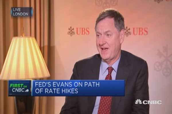 Fed's Evans: Employment not having a big impact on inflation